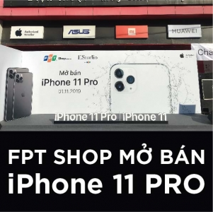 FPT SHOP MỞ BÁN iPHONE 11 | iPHONE 11 PRO